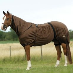 equitheme sweet itch rug brown