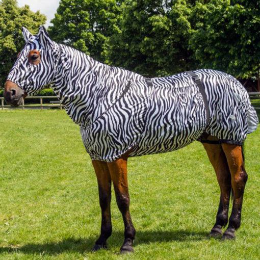 equitheme sweet itch rug zebra